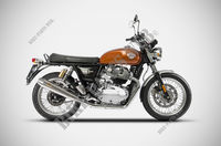 AUSPUFF ZARD TWIN für Royal Enfield INTERCEPTOR 650 TWIN EURO 4