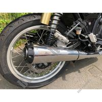 SCORPION SCHALLDÄMPFER für Royal Enfield INTERCEPTOR 650 TWIN EURO 4
